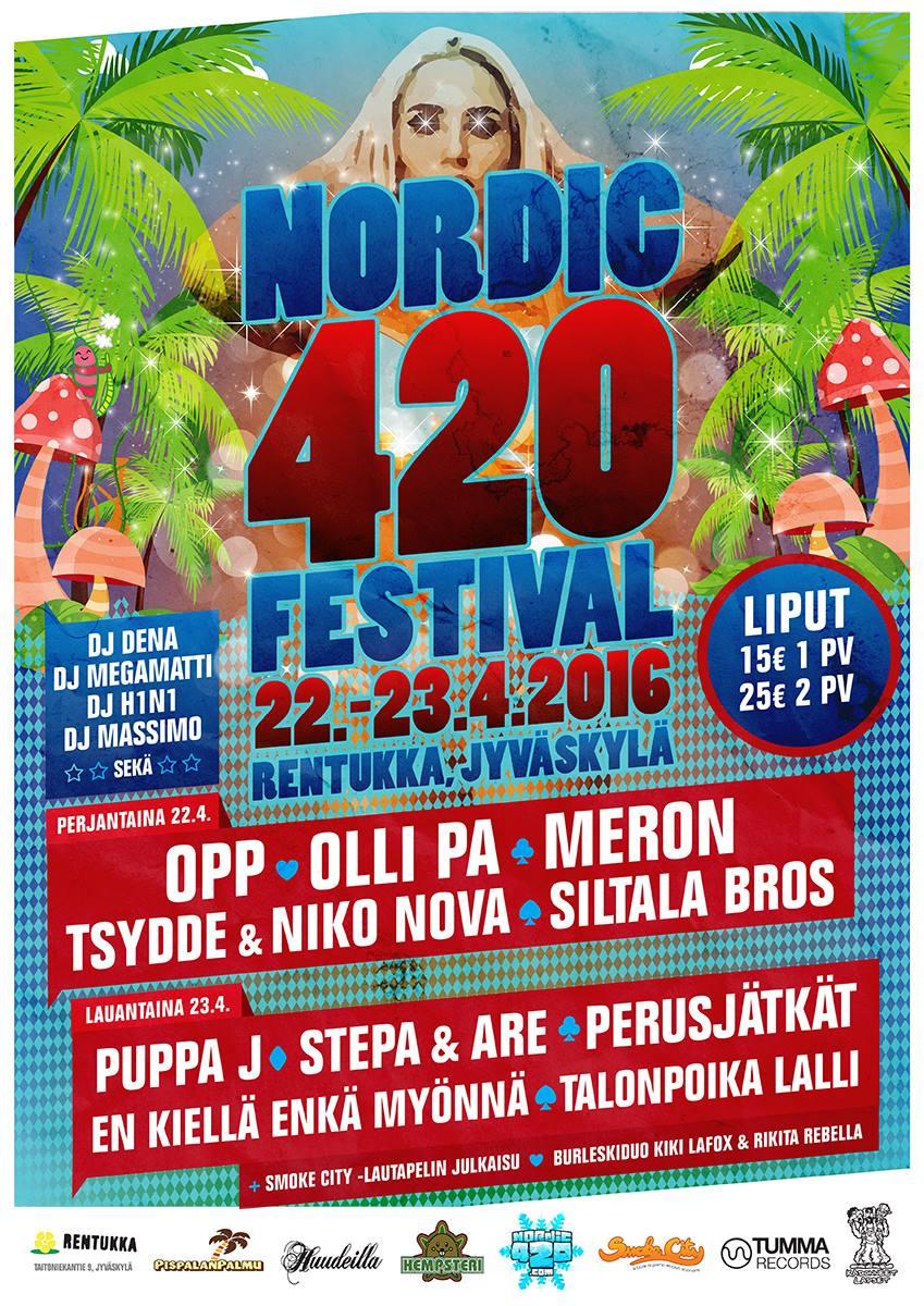 nordic420juliste